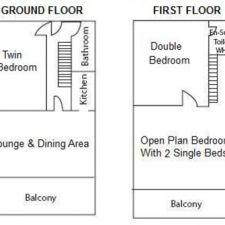 Floorplan of lodge